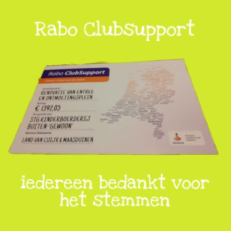 Finale Rabo Clubsupport
