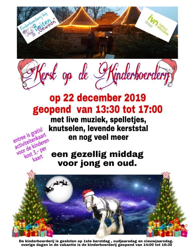Aankondiging: Kerst op de Kinderboerderij