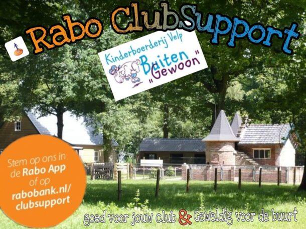Uitslag Rabo ClubSupport voor de Kinderboerderij
